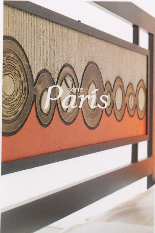 CABECERO FORJA Y MOTIVO ARTISTICO PARIS