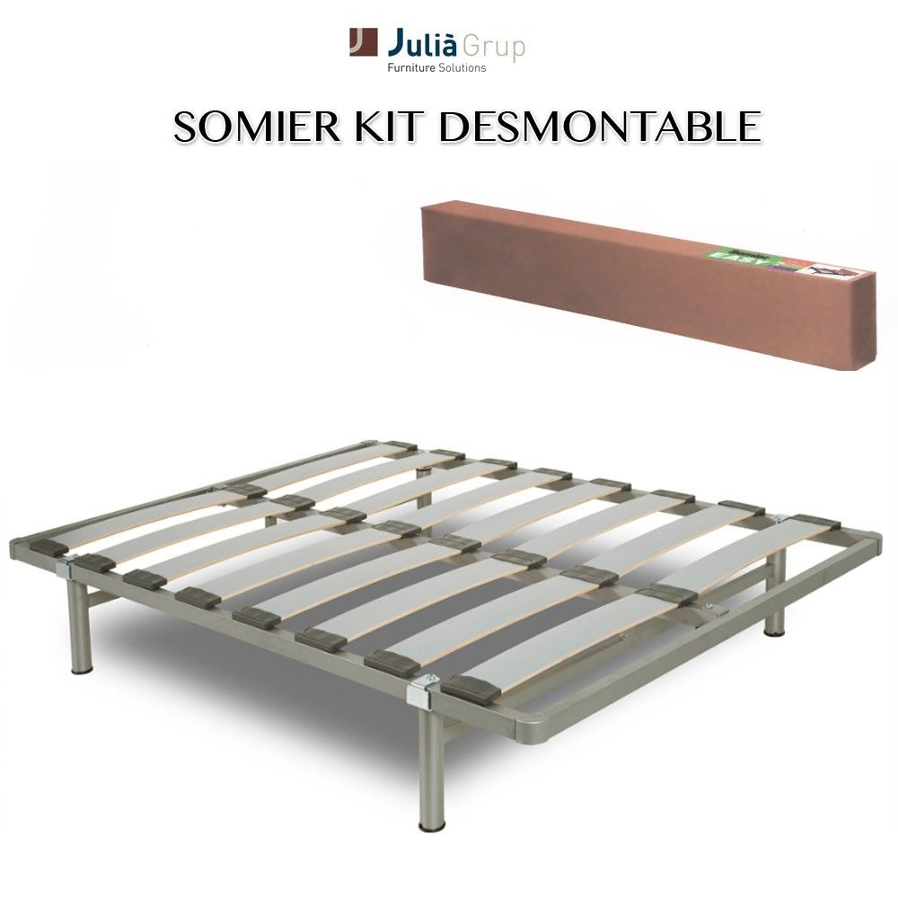 Perfect Somier Kit Desmontable Con Patas Cama10   Somieres Con Patas Baratos .