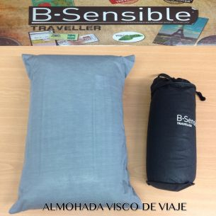 ALMOHADA DE VIAJE VISCO CERVICAL CON FUNDA TENCEL