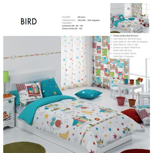 FUNDA NORDICA BIRD