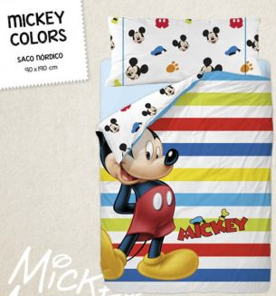 SACO NORDICO MICKEY COLORS