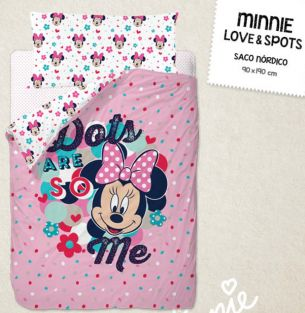 SACO NORDICO MINNIE LOVE & SPOTS