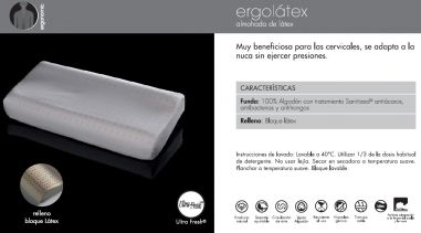 ALMOHADA ERGONOMIC MASH ERGOLATEX