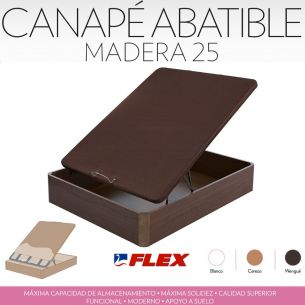 FLEX CANAPE ARCON MADERA 25mm