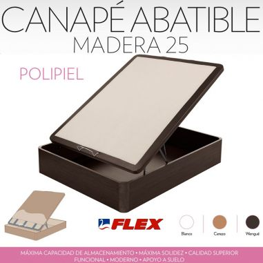 FLEX CANAPE ARCON MADERA 25mm POLI