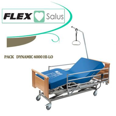 PACK CAMA CLINICA FLEX 4000 HI-LO