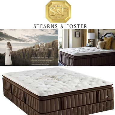 STEARNS & FOSTER LUX STATE