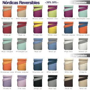 FUNDA NORDICA LISA REVERSIBLE
