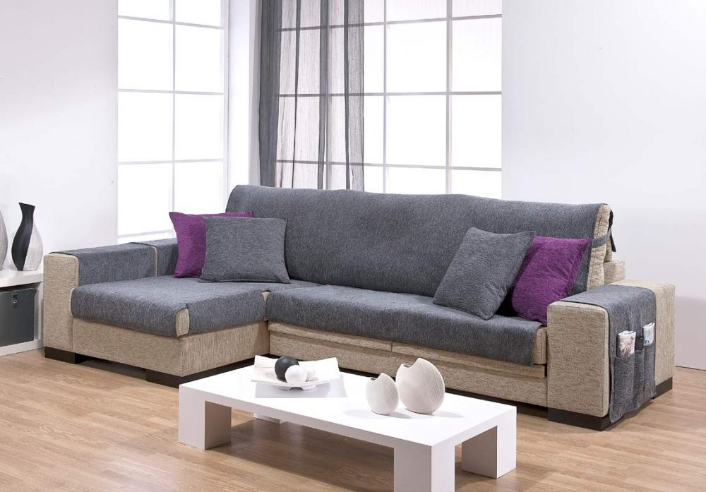Salva sofa chaise longue cama10 - Funda de sofa chaise longue ...
